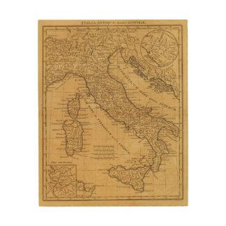 古代イタリア ウッドウォールアート
