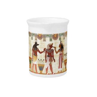 古代エジプトのデザインの水差し ピッチャー