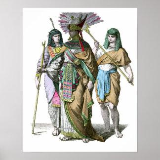 古代エジプトのファラオ ポスター