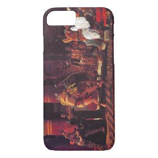 古代エジプトのミュージシャン1863年 iPhone 8/7ケース