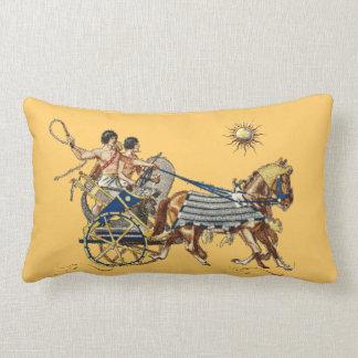 古代エジプトの一人乗り二輪馬車4 ランバークッション