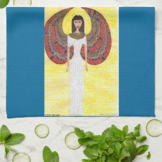 古代エジプトの天使の台所タオル キッチンタオル