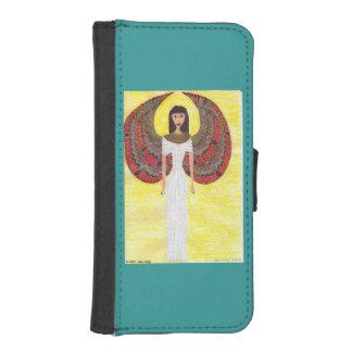 古代エジプトの天使 iPhoneSE/5/5sウォレットケース