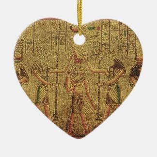 古代エジプトの寺院の壁の芸術 セラミックオーナメント