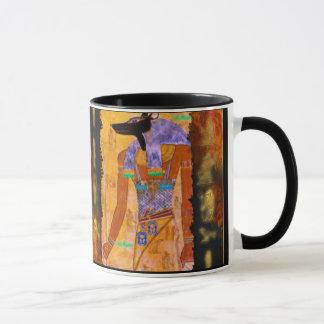 古代エジプトの神のAnubisのギフトの範囲 マグカップ