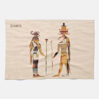 古代エジプトの神タオル キッチンタオル