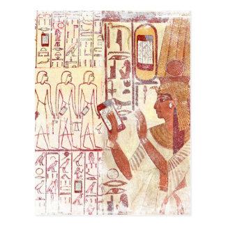 古代エジプトのsmartphones はがき