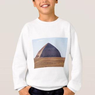 古代エジプト人によって曲げられるピラミッド- Dahshur スウェットシャツ