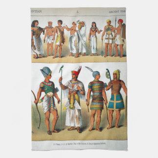 古代エジプト人 キッチンタオル