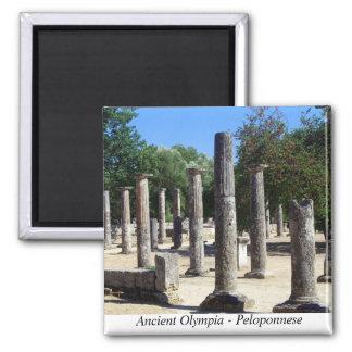 古代オリンピア-ペロポネソス半島 マグネット