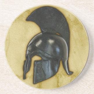 古代ギリシアのヘルメットのコースター コースター