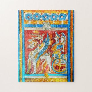 古代ギリシアの伝統的なギリシャ神話の壁pa ジグソーパズル
