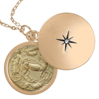 古代ギリシャ人の硬貨アポロ ロケットネックレス