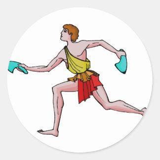 古代ゲームの競争相手 ラウンドシール