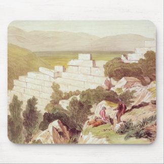 古代サモス、Cephalonia、19世紀の壁 マウスパッド