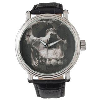 古代スカルの腕時計 腕時計