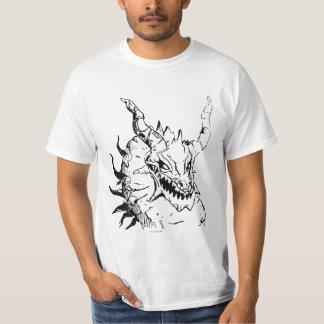 古代ドラゴンの頭部 Tシャツ