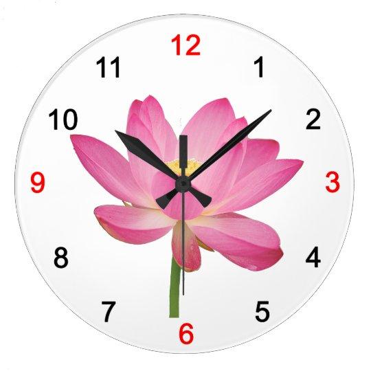古代ハスの掛け時計,No.03 ラージ壁時計