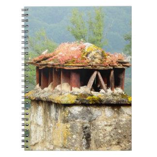古代フランスのな煙突のノート ノートブック