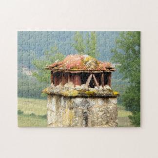 古代フランスのな煙突のパズル ジグソーパズル