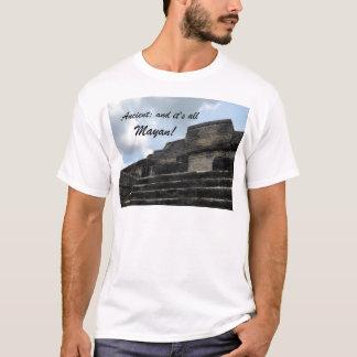 古代マヤの太陽神の寺院 Tシャツ