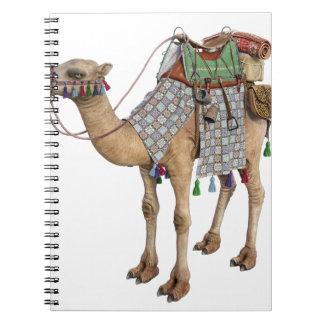 古代ライダーのために準備されるラクダ ノートブック