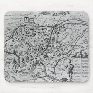 古代ローマの地図 マウスパッド