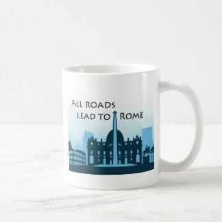 古代ローマの物足りなそうな眺め コーヒーマグカップ