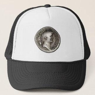古代ローマの硬貨Marcアントニー キャップ