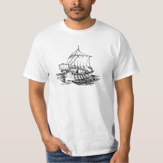 古代ローマの船 Tシャツ