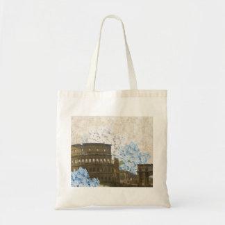 古代ローマの青いアジサイのバッグ トートバッグ