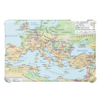 古代ローマ帝国のipadの例の地図 iPad miniケース