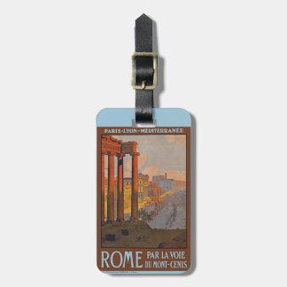 古代ローマ旅行荷物のラベル ラゲッジタグ