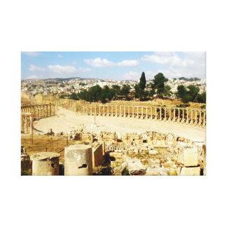 古代ローマ都市Jerash キャンバスプリント