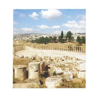 古代ローマ都市Jerash ノートパッド