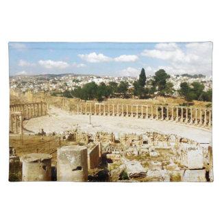 古代ローマ都市Jerash ランチョンマット