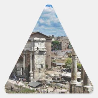 古代ローマ 三角形シール