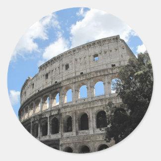 古代ローマColosseum ラウンドシール