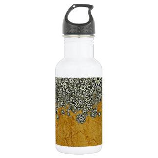 古代世界の装飾的なグラフィック ウォーターボトル