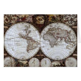 古代世界地図 カード