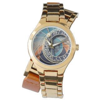 古代中世占星術のな時計チェコ 腕時計