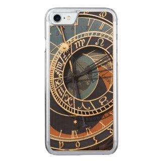 古代中世占星術のな時計チェコ CARVED iPhone 8/7 ケース