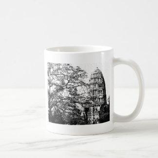 古代仏教寺院 コーヒーマグカップ