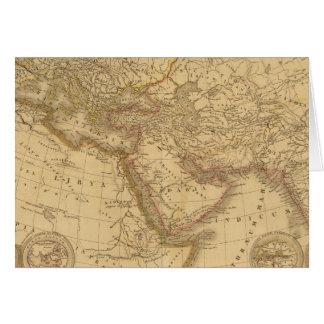 古代地図 カード