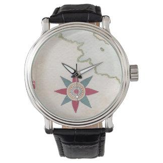古代地図 腕時計