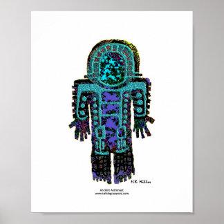 古代宇宙飛行士のイメージ1 810ポスター ポスター