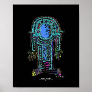 古代宇宙飛行士のイメージ2 810ポスター ポスター