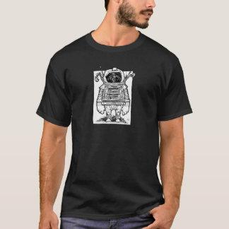 古代宇宙飛行士のワイシャツ Tシャツ