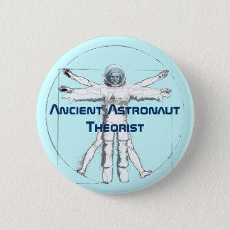 古代宇宙飛行士の理論家ボタン 5.7CM 丸型バッジ