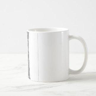 古代寺院のコラムのデザイン コーヒーマグカップ